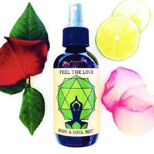 Feel The Love heart chakra spray