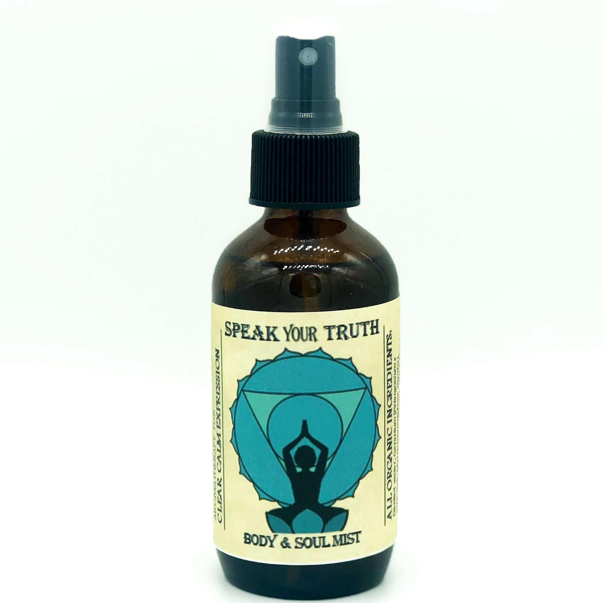 speak your truth throat chakra spray