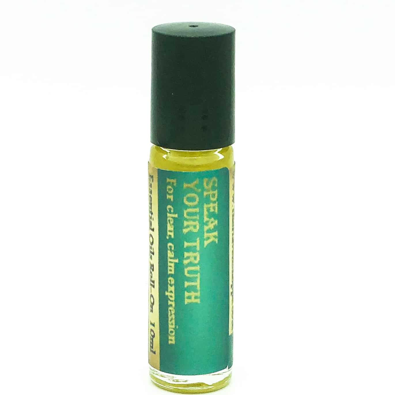 speak your truth essential oil roll on for throat chakra
