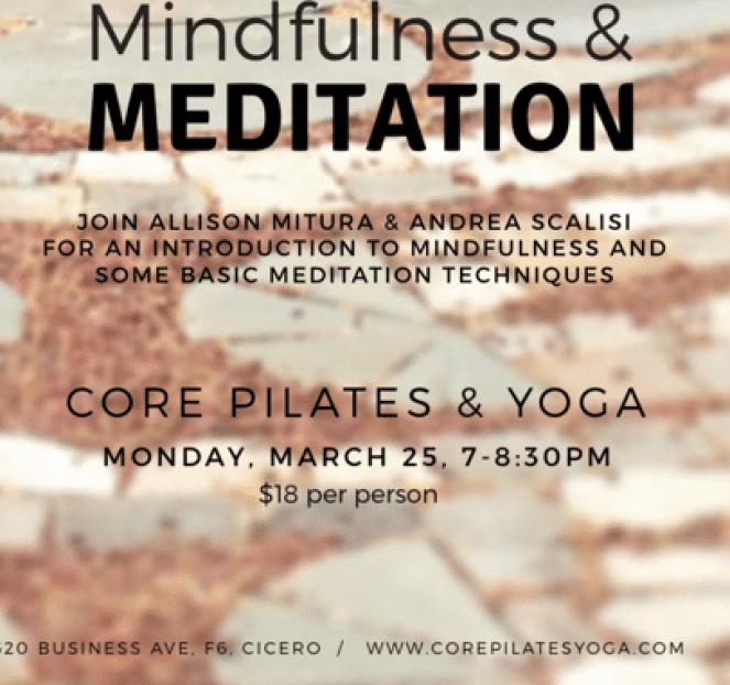 Register for Mindfulness & Meditation event