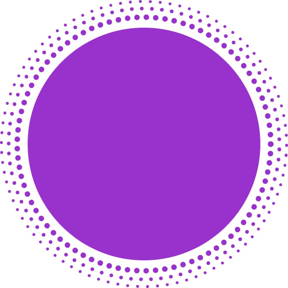 violet circle