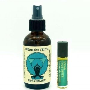 Speak Your Truth aromatherapy set
