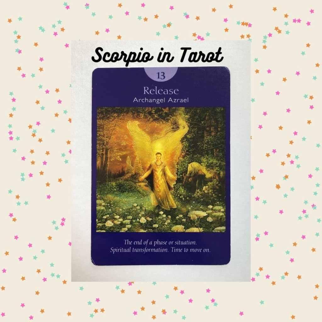 Release tarot card from Angel Tarot by Radleigh Valentine