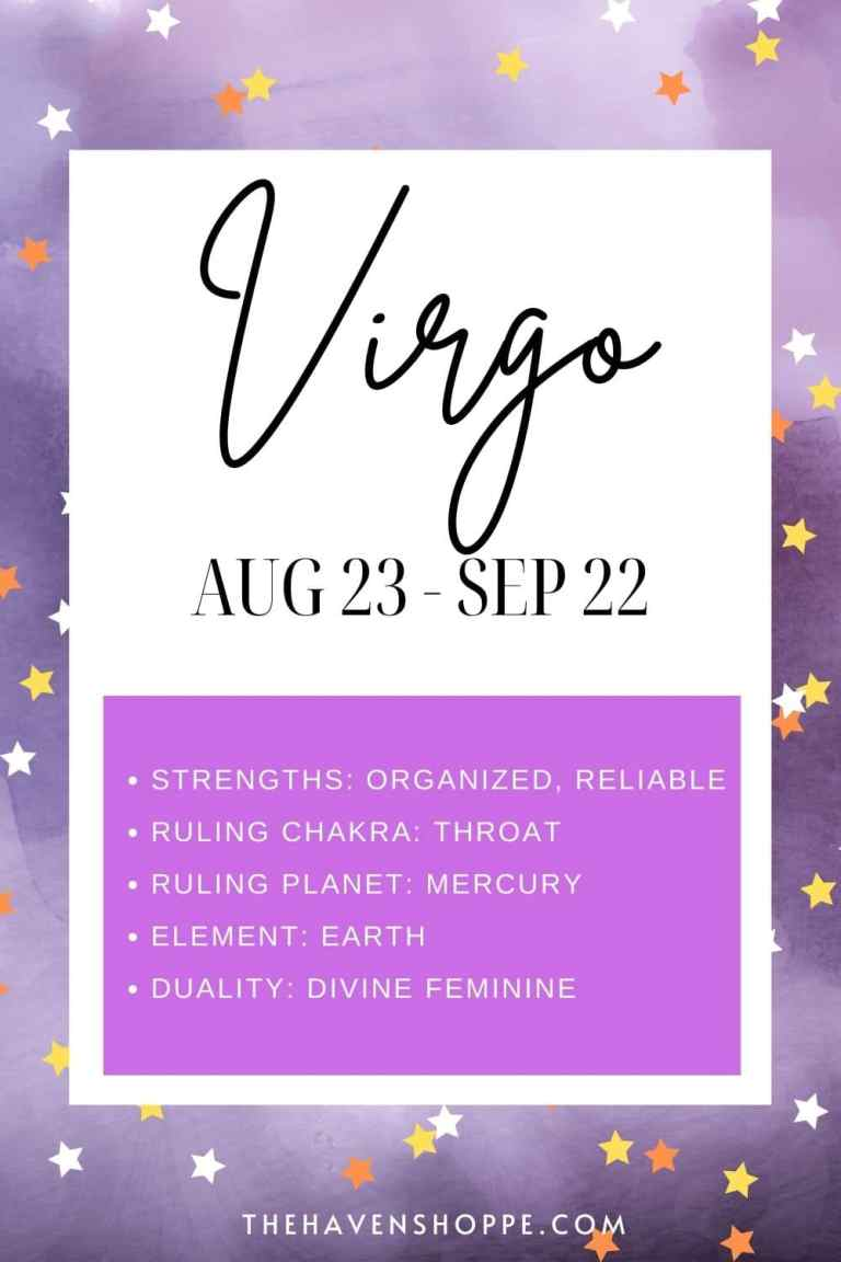 Virgo zodiac sign meaning pin