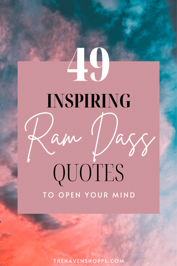 49 Ram Dass Quotes pinnable image