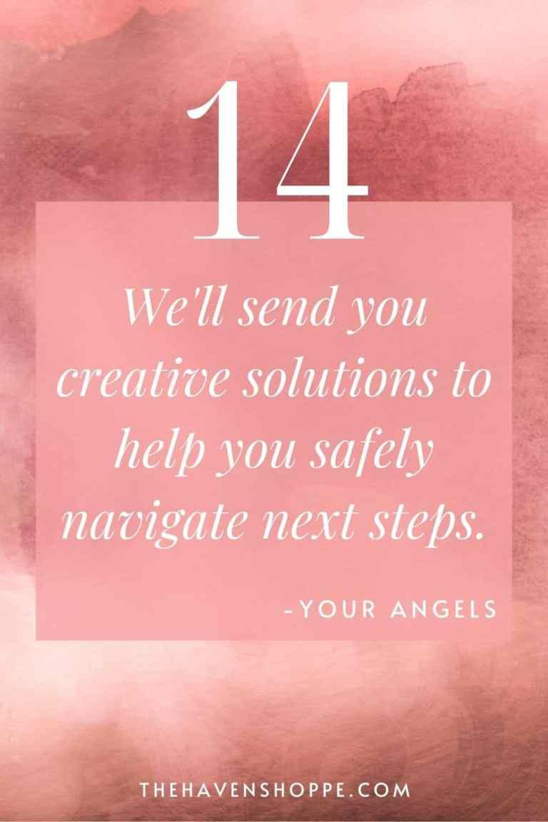 pinnable angel number 14 message