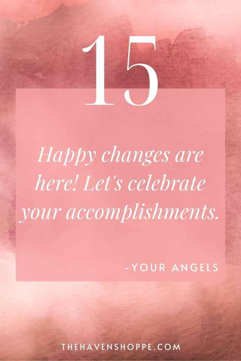 pinnable angel number 15 message