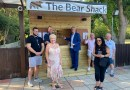 The Bear Shack- a new outside bar opens.