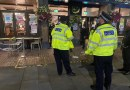 Back Our Bobbies: Romford town centre officers enforcing new regulations.