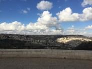 Overlooking the city of Jerusalem.