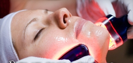 Image result for facial with light therapies