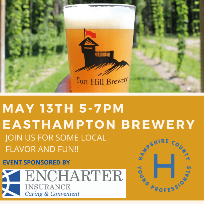 APRIL 14th 5-7pm EAstHampton Brewery
