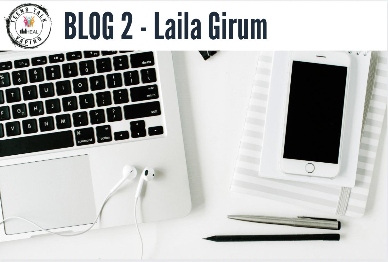 TTV Blog 2 – Online is better for me Laila Girum