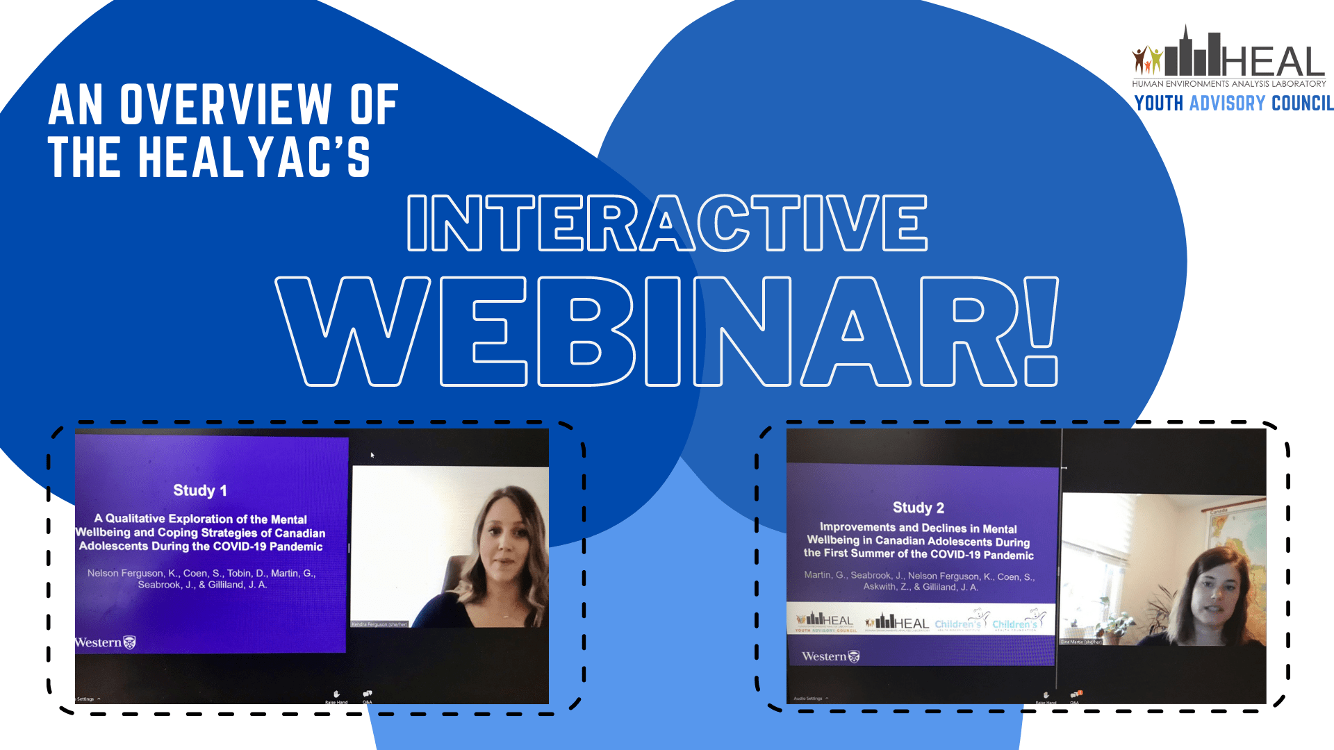 An Overview of the HEALYAC's Interactive Webinar!
