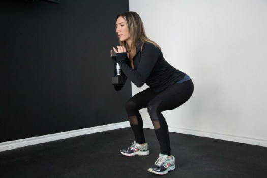 beginner workout at home squat