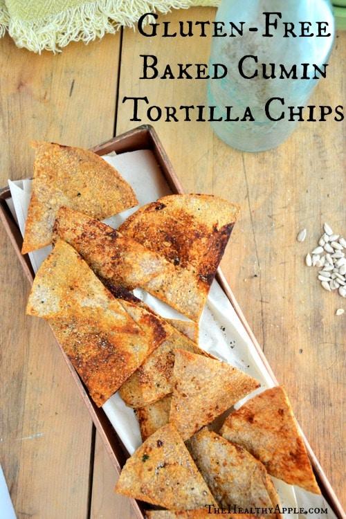 Baked Cumin Tortilla Chips