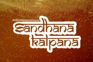 Sandhana Kalpana | Madya | Shukta kalpana