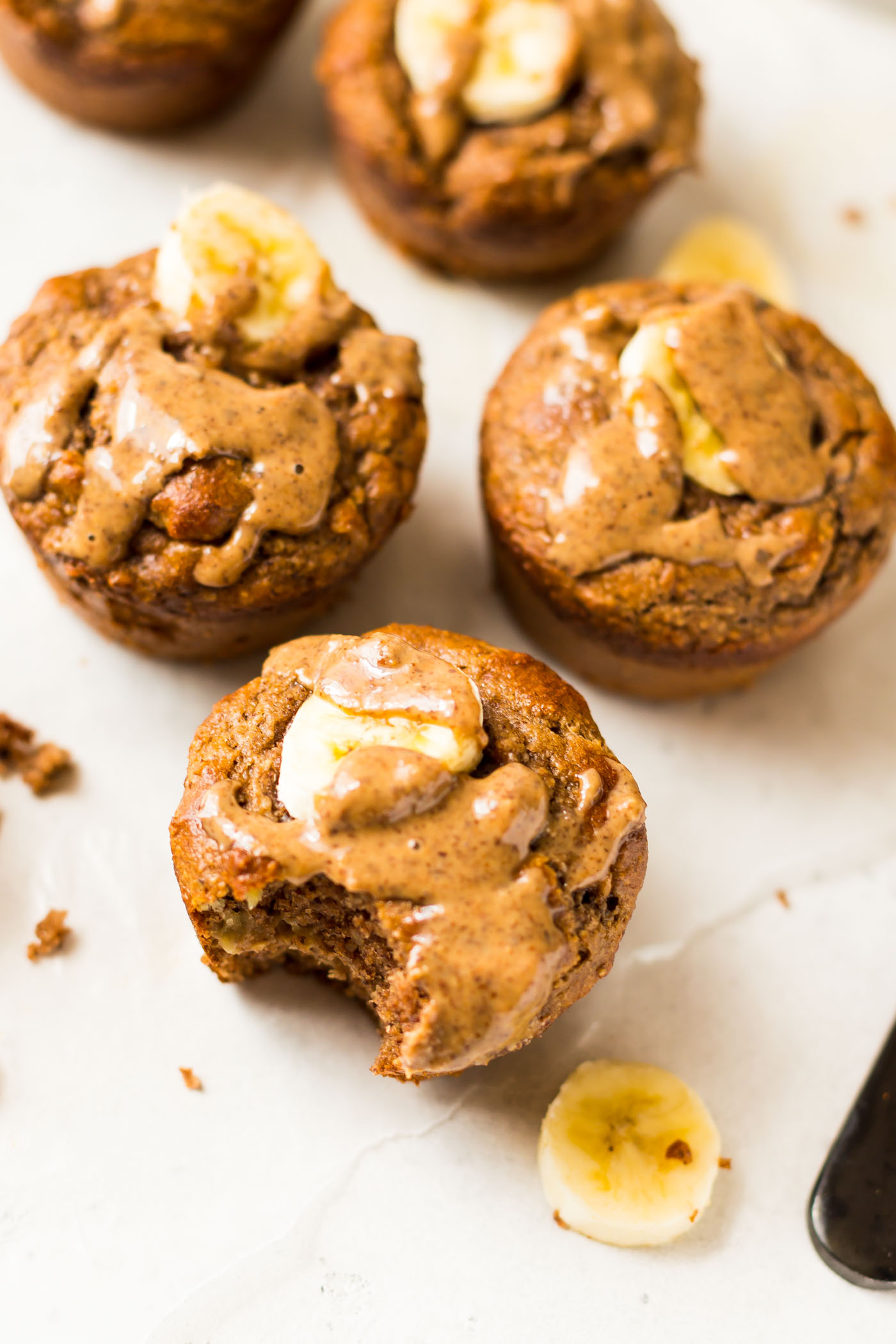 Banana Protein Powder Muffins