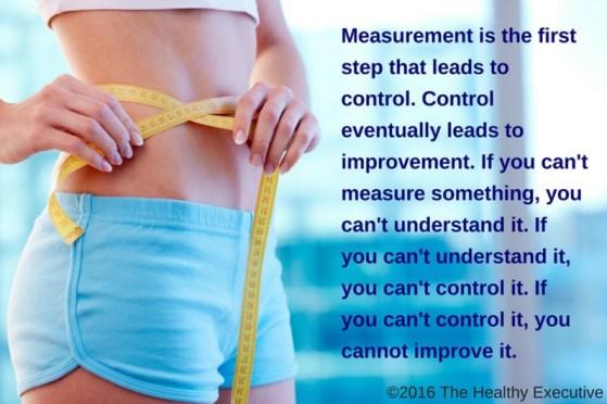 Healthy Executive Measure Girl