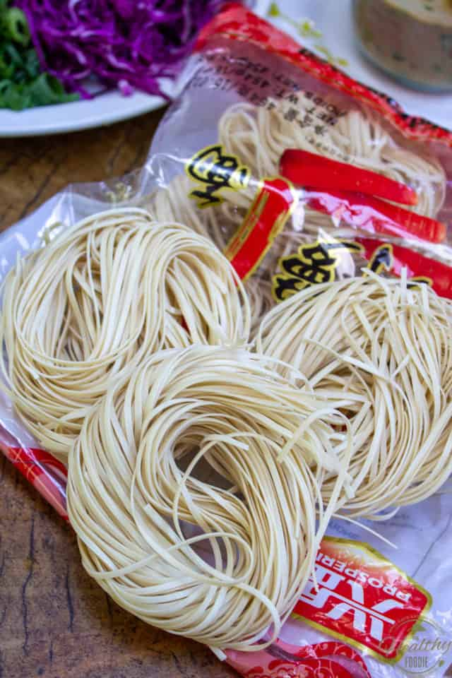 Asian Style Wheat Noodles