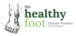Image of the Healthy Foot Logo - small