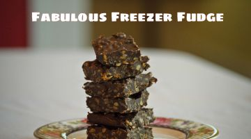 Fabulous Freezer Fudge