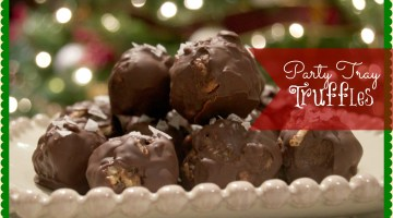Party Tray Truffles