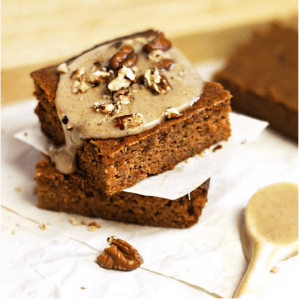 Grain-Free Pumpkin Bars
