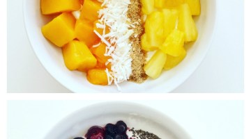 Greek Yogurt Bowls 3 Ways