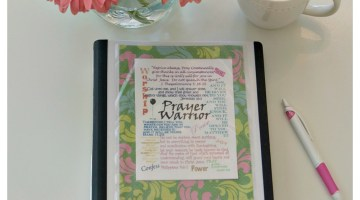 How to Create a Personal Prayer Notebook