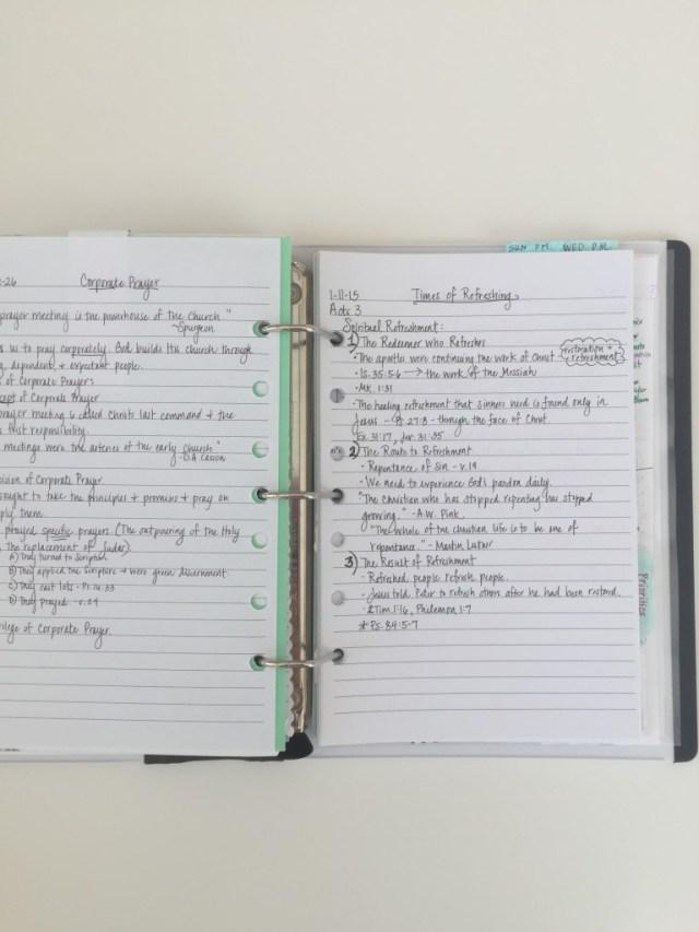 prayer notebook 43