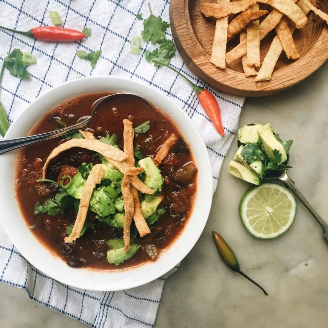 Mexican Tomato Soup 4