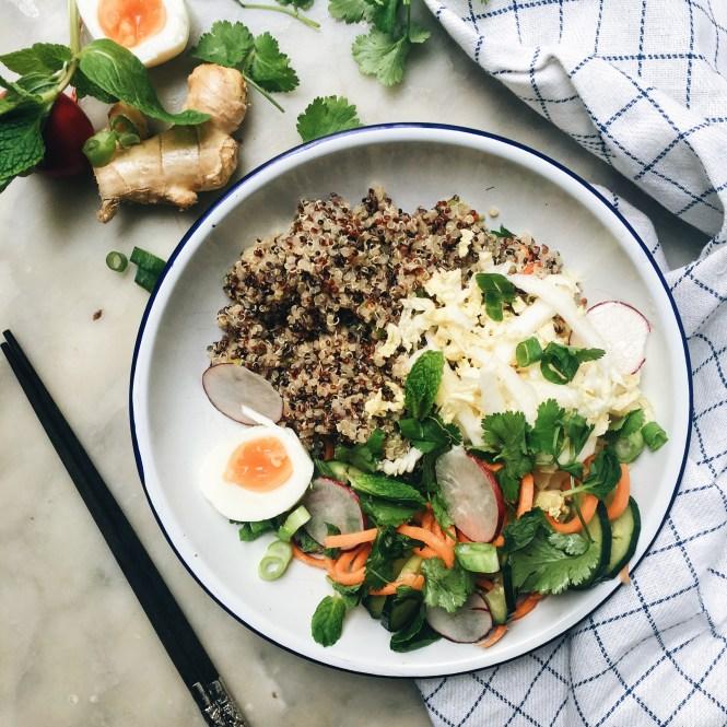 Vegetarian Bahn Mi Bowl