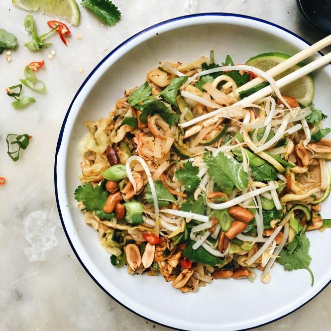 Vegetarian Pad Thai 4