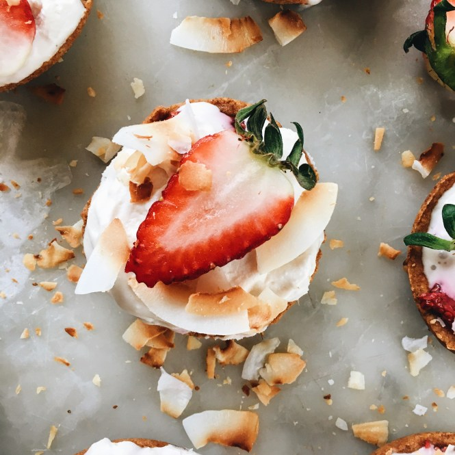 Strawberry and Cream Tarts 4
