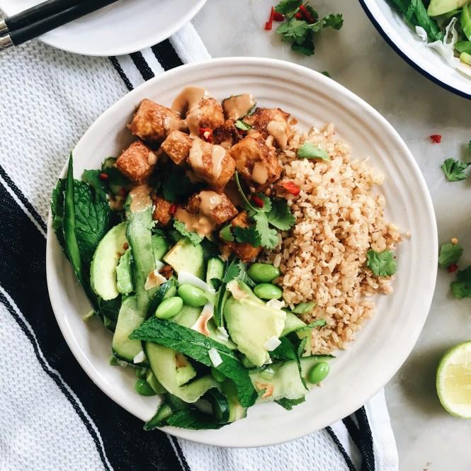 Crispy Satay Tofu 6