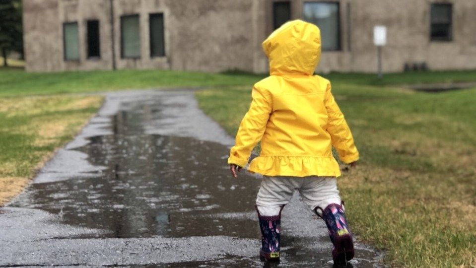 Playing in the Rain