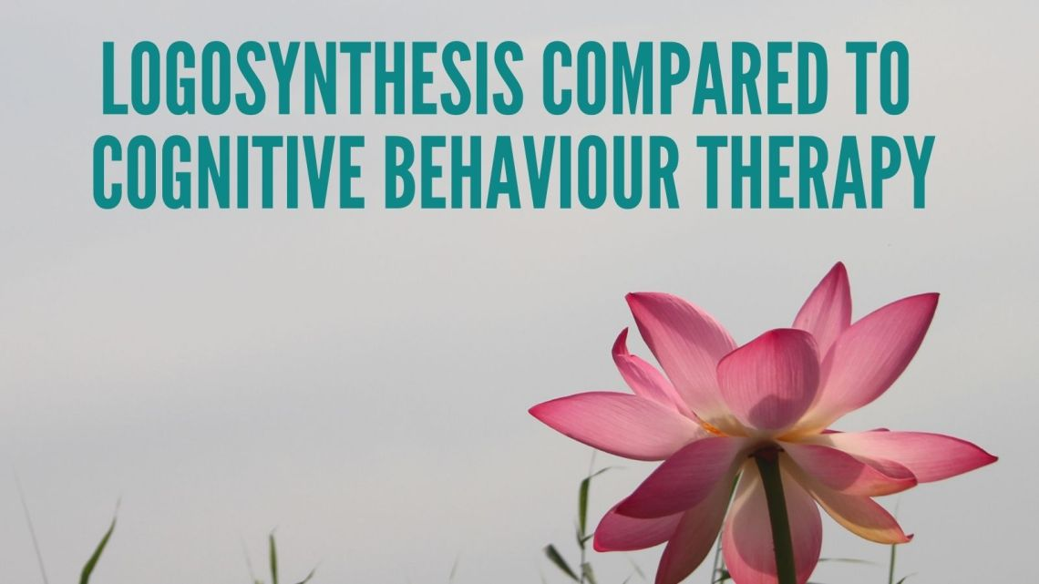 How does Logosynthesis compare to Cognitive Behaviour Therapy CBT