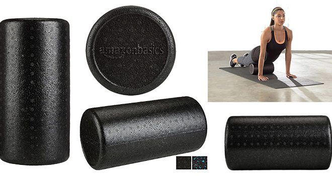 AmazonBasics High Density Round Foam Roller