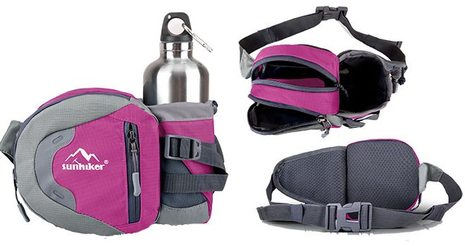 Sunhiker Sports Water Resistant Waist Pack