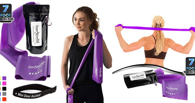 Super Exercise Band 7 ft. Resistance Bands
