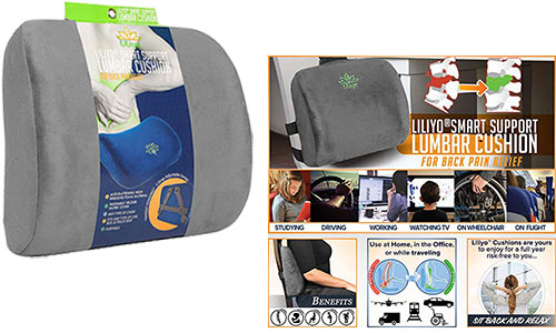 Liliyo smart lumbar support cushion pillow