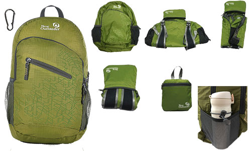 Outlander Packable Lightweight Backpack
