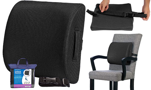 lumbar support cushion by Elephix
