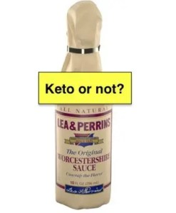 Is Worcestershire sauce keto friendly?