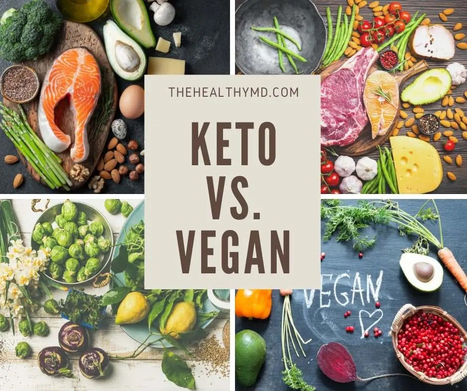 Keto vs Vegan Diets – Which is the healthier diet?
