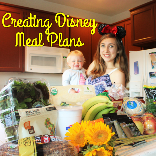 Making Healthy Disney-Themed Meal Plans - 21 Day Fix Approved!