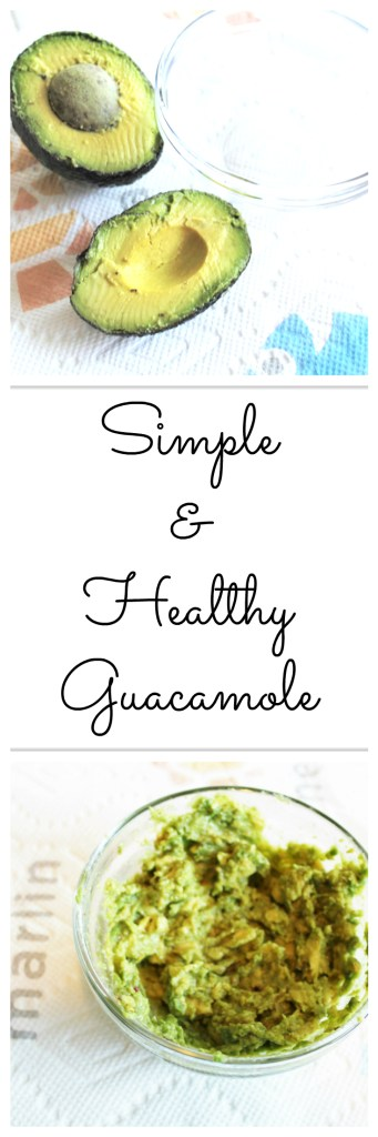 Simple & Healthy Guacamole (21 Day Fix Approved)