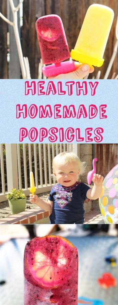 Healthy Homemade Popsicle Recipes that your kids are sure to love!