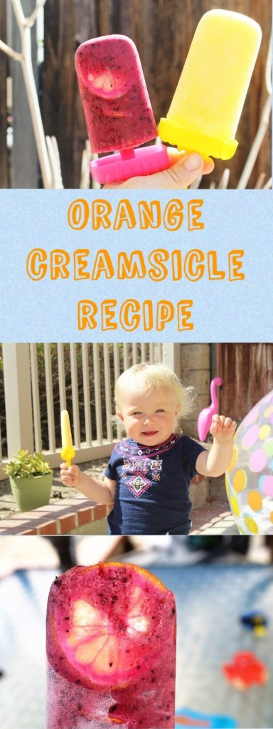 Healthy Homemade Orange Creamsicle Recipe